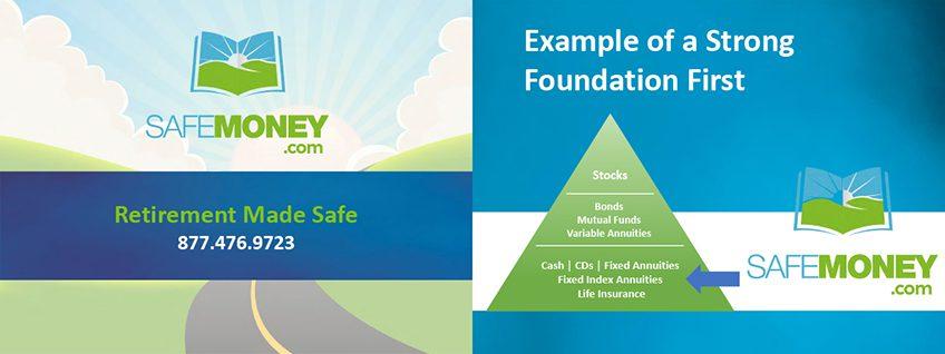 Safe Money First Slide